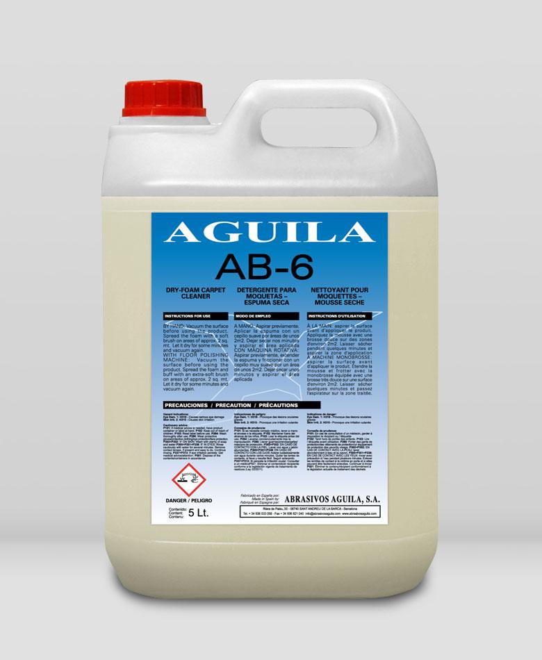AB-6 Detergente para moquetas – espuma seca