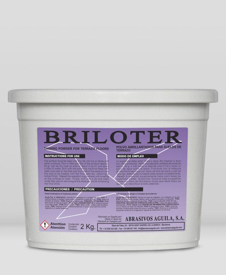 BRILOTER – shining powder for terrazzo floors