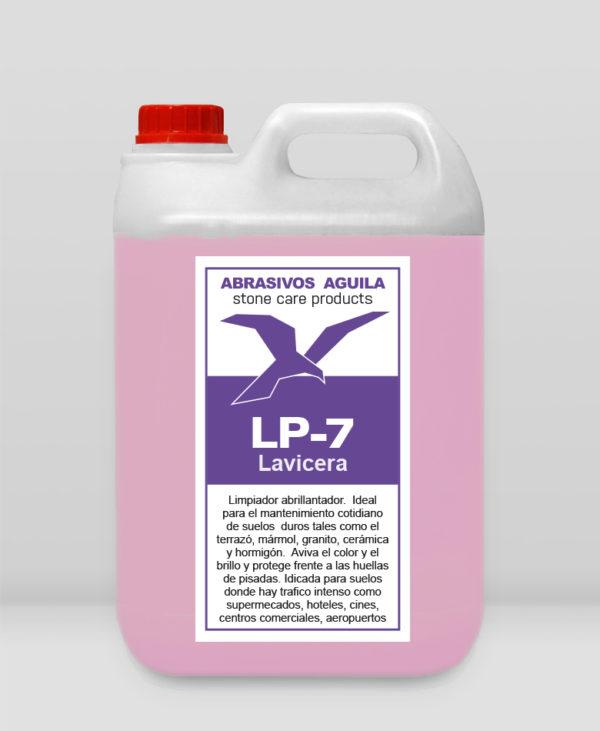 LP-7 Lavicera es un limpiador abrillantador.