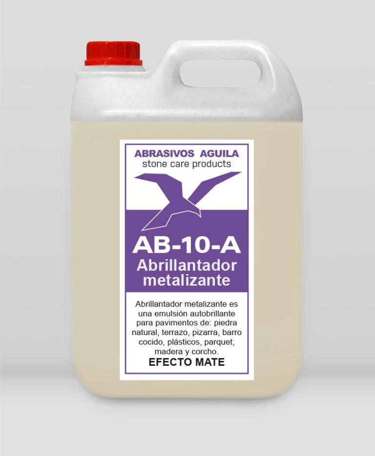 AB-10 -A Abrillantador metalizante EFECTO MATE