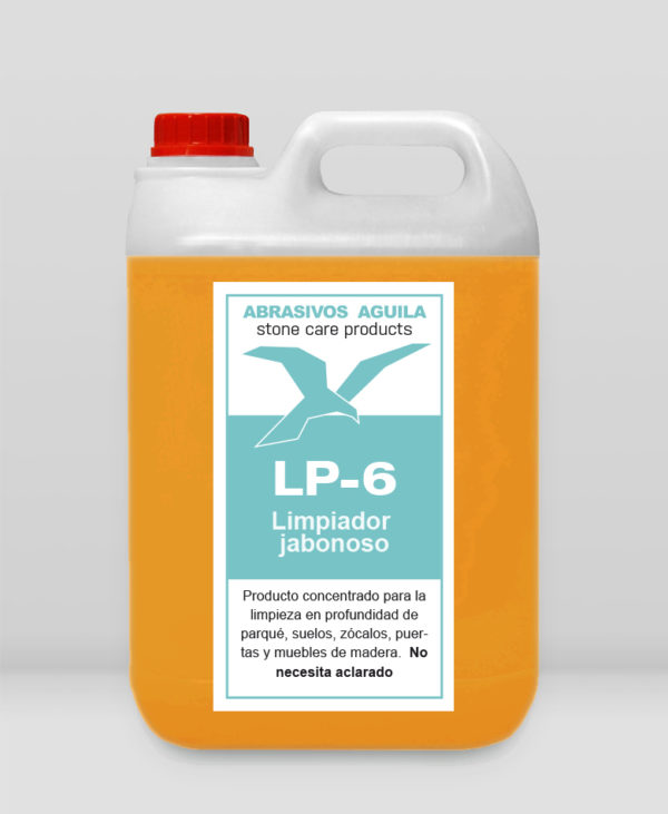 LP-6 Limpiador jabonoso para madera