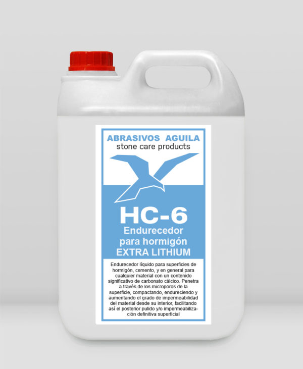 HC-6 - Endurecedor para hormigón EXTRA LITHIUM